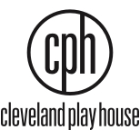 Cleveland Play House Logo Stacked Black & White