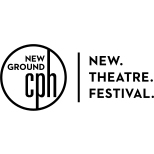 New Ground Theatre Festival Logo Horizontal Black & White